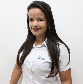 Foto da gestora da unidade de Jaguariaíva, LUANA CAROLINE DOS SANTOS MARTINS